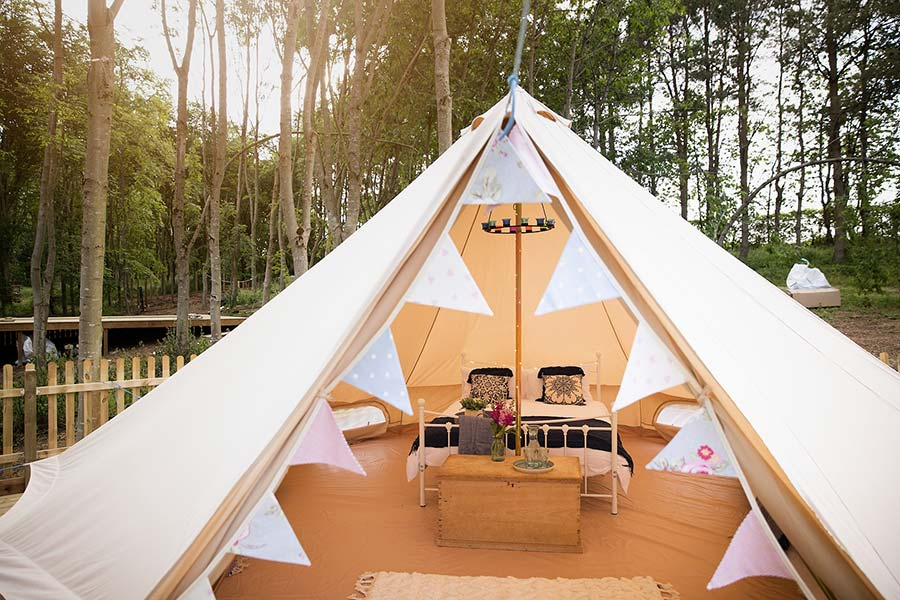 Glamping site launch date - Get Lost in Nature
