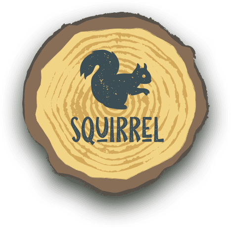 Squirrel Bell Tent - Get Lost in Nature
